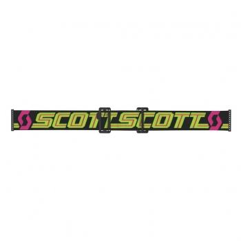 SCOTT Prospect MX Brille Black/Yellow / Elektric Blue Chrome Works