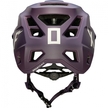 FOX MTB Helm Speedframe Wurd Dark Purple Größe: M