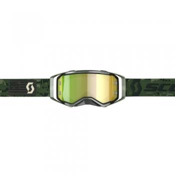 SCOTT Prospect Goggle Kaki Green/Yellow Chrome Works