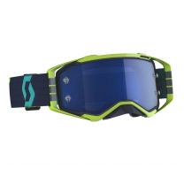 SCOTT Prospect MX Brille Blue/Yellow / Electric Blue Chrome Works