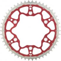 Fusion-Dual Kettenblatt CR125/250  CRF250/450 Rot Größe wählen