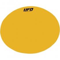 UFO UNIVERSAL Nummerntafel Hintergrundaufkleber oval