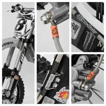 Stahlflex-Bremsleitung KX 450 19-/  250  21-Vorderrad