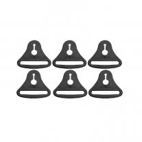 Ersatz Bandschnallen 6Stück für POD Knieorthese   ® K700 / POD ® K300 sowie ® K8