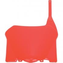 Startnummerntafel Vorn Honda CRF250 08/09  , CRF450 08 Rot