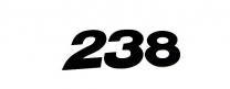 Startnummern US-Style 15cm schwarz