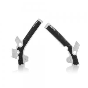 Acerbis Rahmenschützer X-Grip Husqvarna TC85  14-17  Weiß/Schwarz