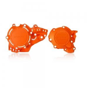 Acerbis X-POWER Zündungs/Kupplungsdeckel-Cover KTM EXC250/300TPI  17-19 Orange