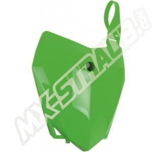 UFO Starttafel vorn Kawasaki KLX110  10-> Grün