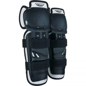 FOX Titan Sport Knee Guards Black
