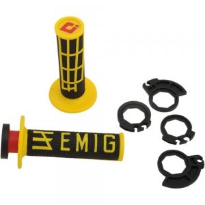 ODI Lock On V2 System Emig für 2 und 4Takt gelb/schwarz
