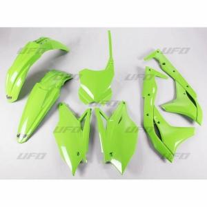 Plastikkit Kawasaki KXF250 17-> Grün