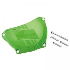 UFO Kupplungsdeckelschutz grün KXF250  09-17