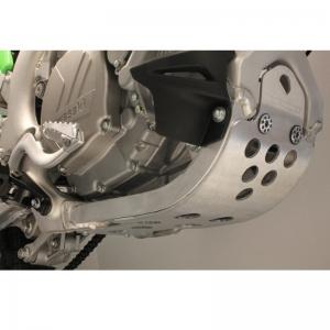 Works Connection Motor-Schutzplatte Kawasaki KXF 250 17-