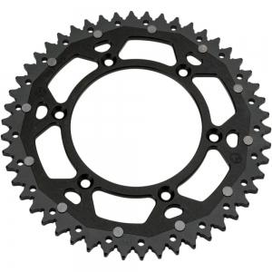 Moose Dual Kettenblatt KTM SX(F)/EXC(F)  schwarz/schwarz 50Z