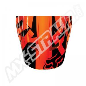 FOX V1 Helmet Visor Race Orange Gr: 2XS/S