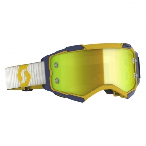 SCOTT Fury MX-Brille  Yeliow/Blue / Yellow Chrome Works