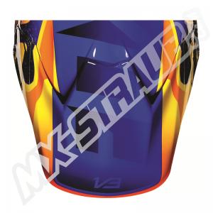 FOX V3 Helmet Visor Flight Orange