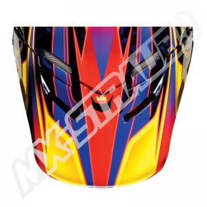 FOX V4 Helmet Visor Race Orange