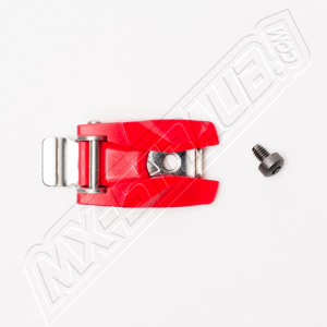 FOX Instinct MX15 Stiefel-Schnallen Halter rot