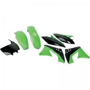 UFO Plastik-Kit Kawasaki KXF250 10/11 OEM Farbe