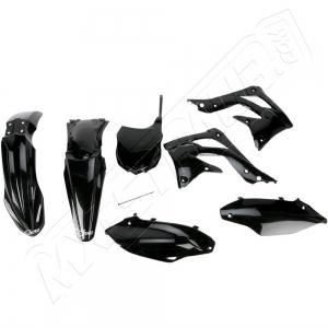 UFO Plastik-Kit Kawasaki KXF450 13-15 schwarz