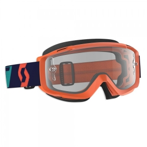 Scott SCOTT Split OTG Brille Orange/Blue  /  Lens Clear