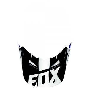 FOX V1 Helmet Visor Race  Black Gr: XS/S