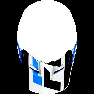 FOX V1 Helmet Visor Mako White Gr: XS/S