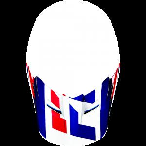 FOX V1 Helmet Visor Mako Blue/White Gr: XS/S