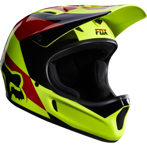 FOX  Downhill-Freestyle Rampage Mako Helm Yellow Gr: L