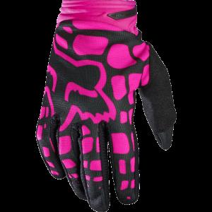 FOX Women Dirtpaw Gloves  schwarz/pink Größe: L