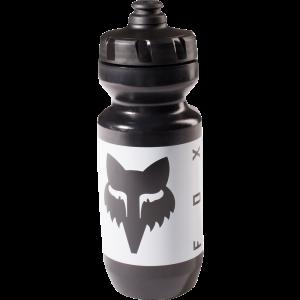 FOX Purist Connector Wasser Flasche 650ml Schwarz/Weiß