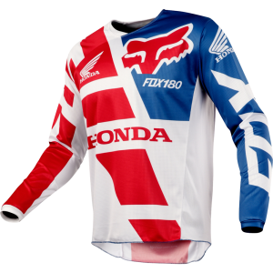 FOX 180 Honda MX Jersey rot XL