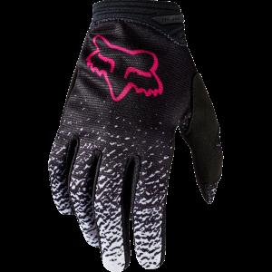 FOX Damen Dirtpaw Handschuh  schwarz/pink Größe: L