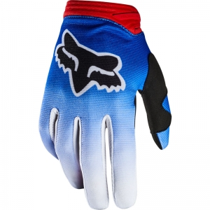FOX Damen Dirtpaw Fyce Handschuhe Blau/Rot Größe: L