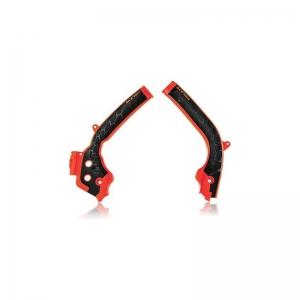 Acerbis Rahmenschützer X-Grip KTM SX(F) 16-18/EXC(F) 17-19  Orange 16/Schwarz