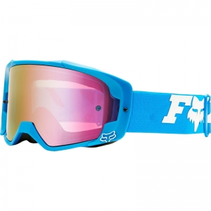 FOX VUE MX-Brille Zebra / Mirror Lens Red