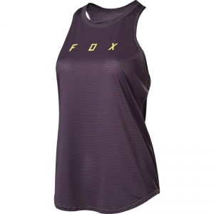 FOX MTB Womens Flexair Tanktop Dark Purple