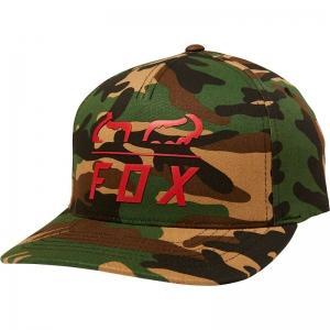 FOX Furnace Flexfit Hat Green Camo  L/XL