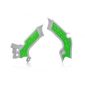 Acerbis Rahmenschützer X-Grip KXF450 19-/ 250 21-  Grau/Grün