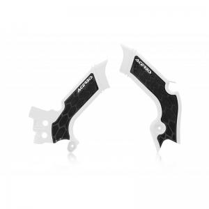 Acerbis Rahmenschützer X-Grip KXF450 19-/ 250 21- Weiß/Schwarz