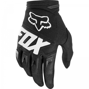 FOX Kinder Dirtpaw Race Handschuhe schwarz