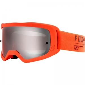 FOX MX-Brille Main Ii Gain - Spark-Sichtscheibe Flo Orange