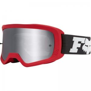 FOX Main II Linc MX-Brille Flame Red / Mirror Lens Chrome