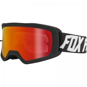 FOX Main II Wynt MX-Brille Black / Mirror Lens Red