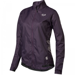 FOX MTB Womens Defend Windjacke  Dark Purple