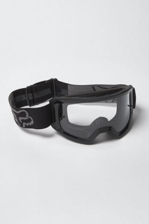 FOX MX-Brille Main Stray schwarz klares Glas