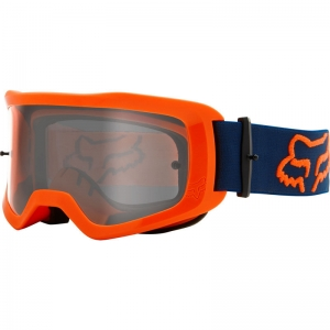FOX MX-Brille Main Stray flo-orange klares Glas