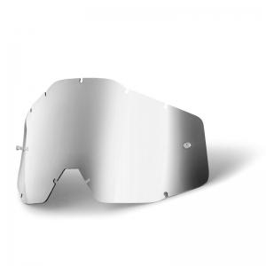 Ersatzglas für 100% Racercraft/Accuri Brille in Silber verspiegelt
